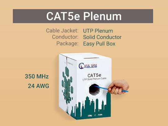 Cat5e Plenum Cable