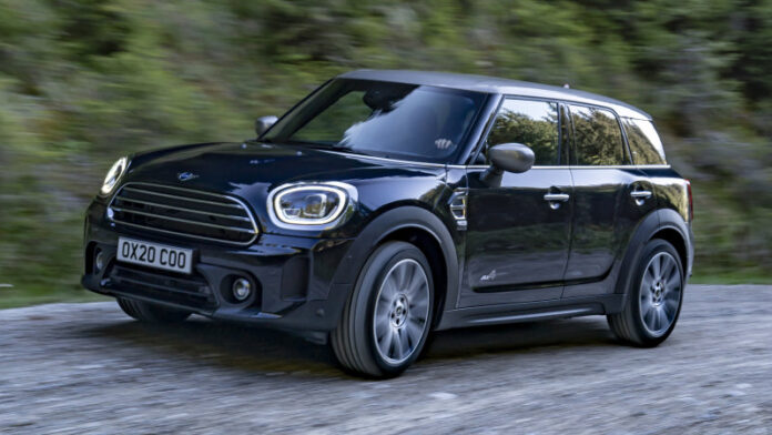 The minicooper countryman updated version for 2020